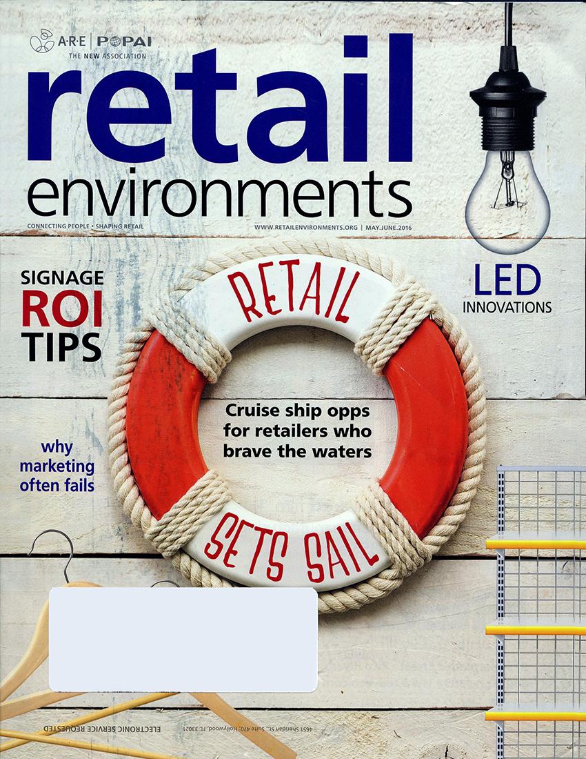 2016 ARE_POPAI - Retail Enviroments - Globalshop 2016 - UA Runner_01
