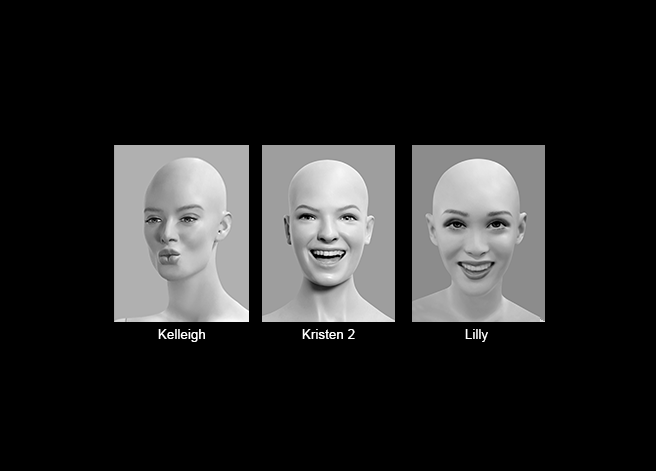 Mannequin Content_Female Heads_Realistic_05