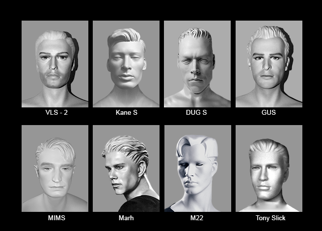 Mannequin Content_Male Heads_Abstract_02