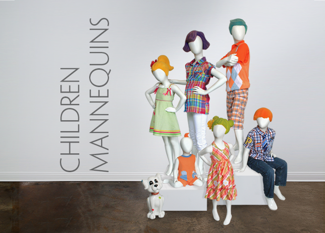 Cover Page_Children Mannquins