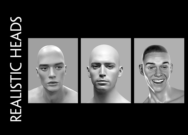 Cover Page_Male Heads_Realistic