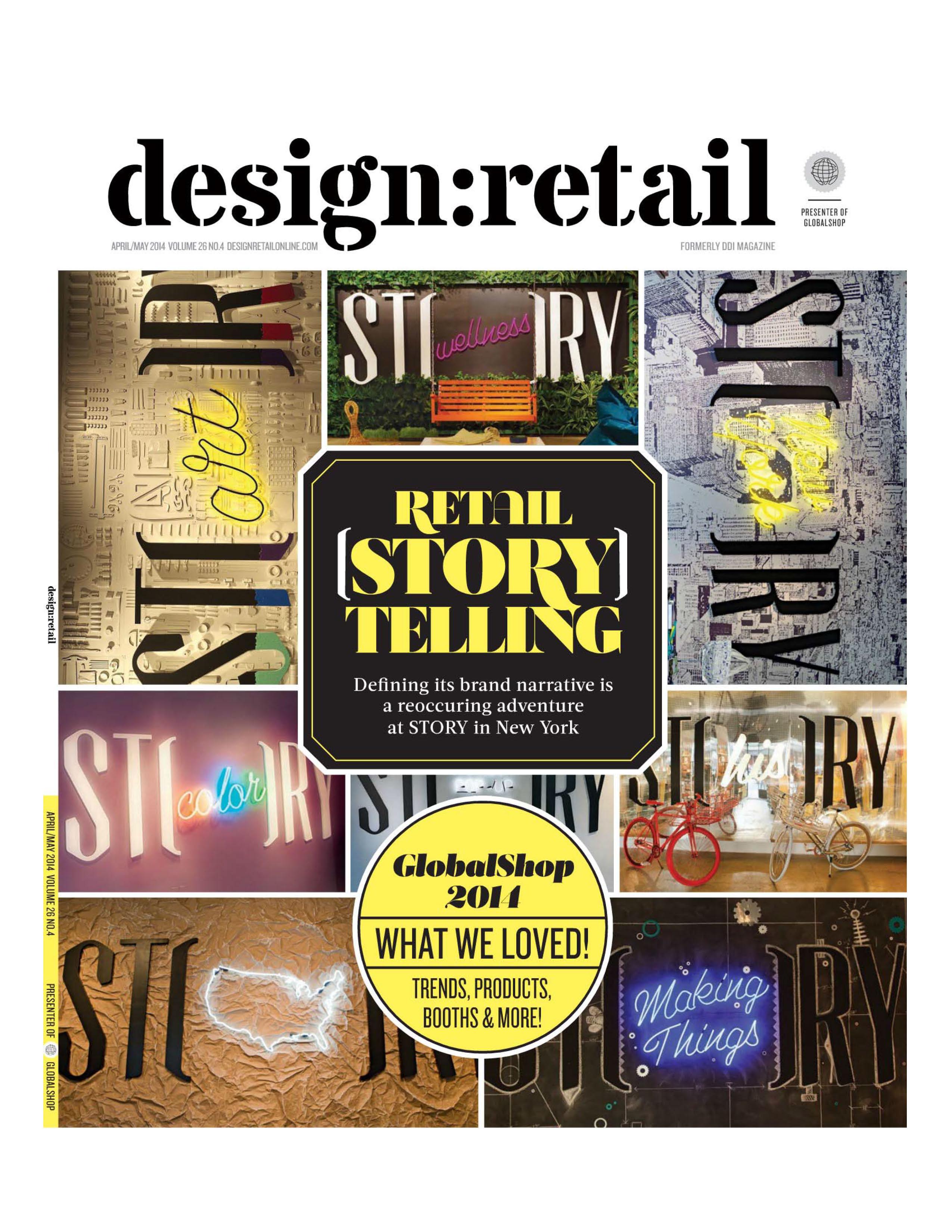Design Retail April May 2014 Cover Greneker